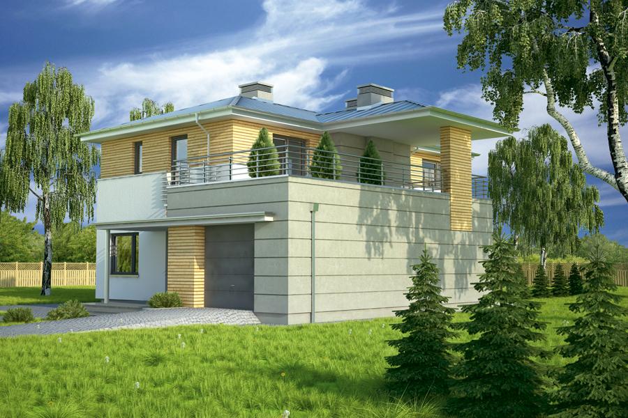 Проект двухэтажного дома - муратор м137 rpm2094 в всеволожск.