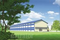 KC02St Kurnik dla 50400 kur niosek, w systemie klatkowym, w technologii stalowej