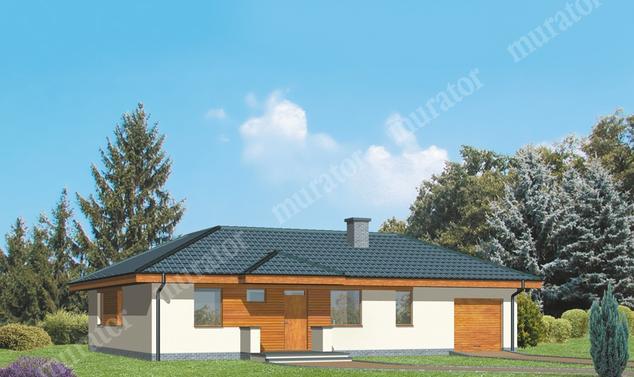 Projekt domu:  Murator D09b   – Dom na 102 - wariant III