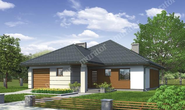 Projekt domu:  Murator M142   – Pomysłowy