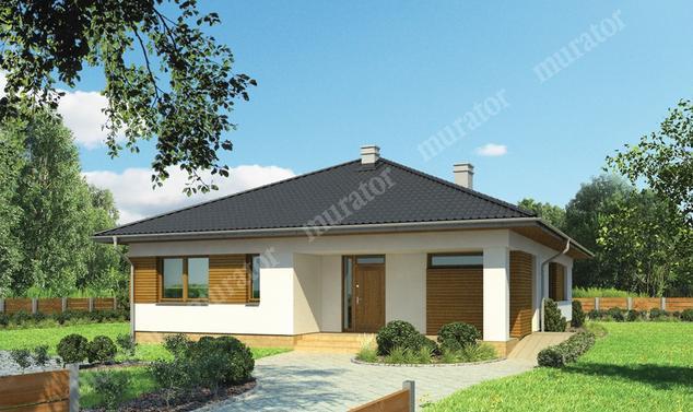 Projekt domu:  Murator M165   – Baśniowy